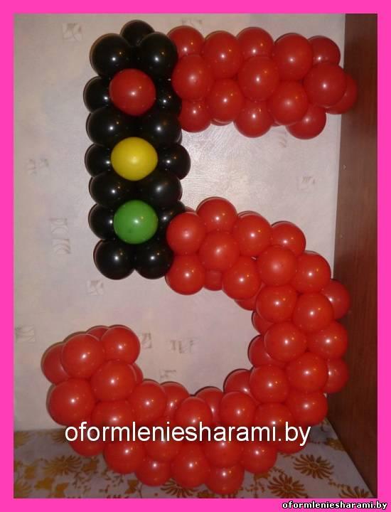 Букеты и цветы из воздушных шаров и шариков