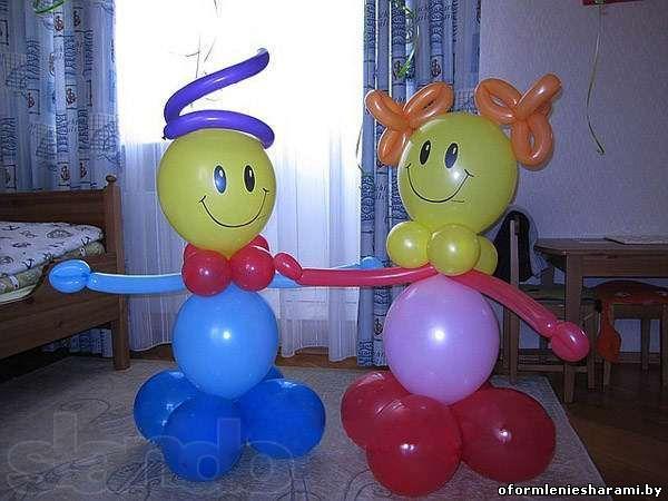 Сделать фигуру из шаров своими руками